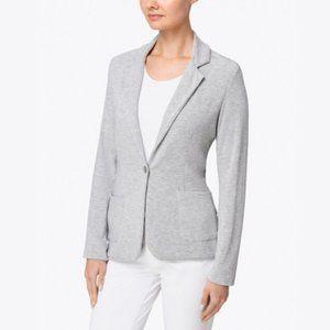 NWT Majestic Filatures Deluxe T-Shirt Gray Blazer